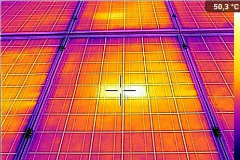 Indagine termografica FV