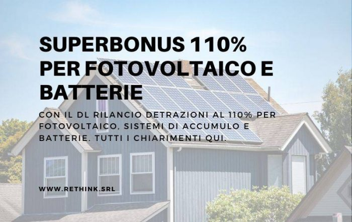 Superbonus fotovoltaico FB