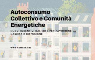 autoconsumo collettivo e comunità energetiche
